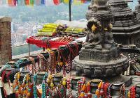 Beautiful jewellery market in Kathmandu, Nepal -  Photo: Amanda Fletcher