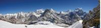 Panorama from Mera Peak |  <i>Henrik Lovendahl</i>