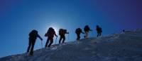 Trekking up the mighty Pachermo   Tim Macartney-Snape