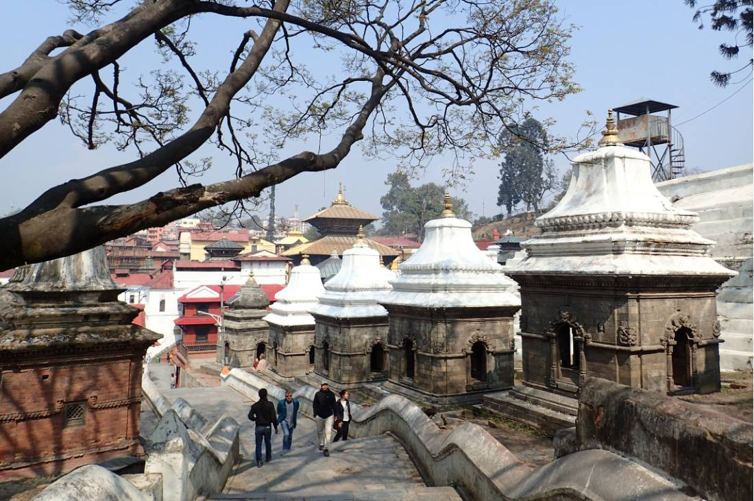 The beauty of Pashupatinath in Kathmandu |  <i>Sally Dobromilsky</i>