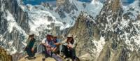 Enjoying the well earned views in Pakistan's Karakoram mountains | Michael Grimwade