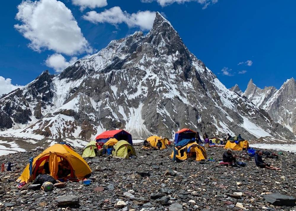 Campsite in the Karakoram mountain ranges |  <i>Soren Kruse Ledet</i>