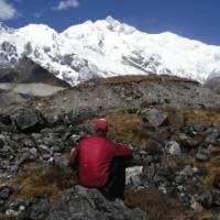 A rest spot with spectacular mountain vistas | Gavin Turner