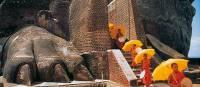 The Lions Paw at Sigiriya on the Sri Lanka Adventure