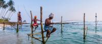 The famous Stilt fisherman of Sri Lanka | Richard I'Anson