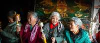 Elderly Tibetan women | Richard I'Anson
