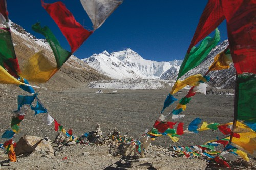 Mt Everest's majestic north face, Chomolongma viewed from Tibet&#160;-&#160;<i>Photo:&#160;G. Craig Holmes</i>