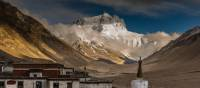 Rongphu Monastery, with Mt Everest in the background | Richard I'Anson