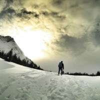 Snowshoeing in Kananaskis Country, Alberta   Kurt Morrison