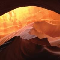 Mountain sunrise at Antelope Canyon, Arizona   Nathaniel Wynne
