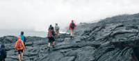 Hiking on a lava field on Hawaii's Big Island | Rachel Imber