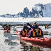 Kayaking the tranquil waters in Antarctica | Justin Walker