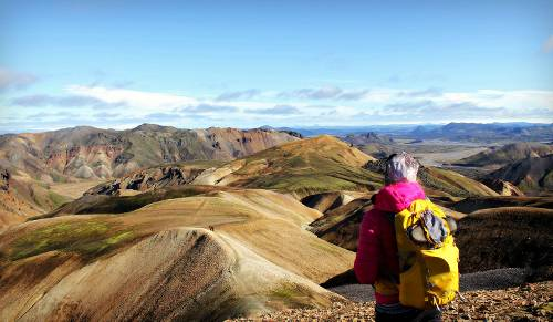 On the Laugavegur trek in amazing Iceland - <i>Photo: Liss Myrays</i>