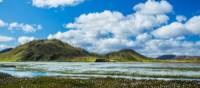 Explore the geothermal valley of Landmannalaugar in the southern highlands of Iceland