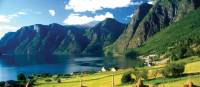 Delightful rural landscapes near Aurland