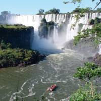 Spectacular view of the mighty Iguazu Falls   Elaine Clueit