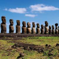 Easter Island is home to the iconic Moai stone heads   Heike Krumm