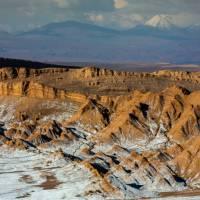 Valley of the Moon, in Chile's Atacama Desert   Richard I'Anson