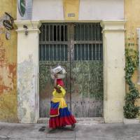 The colourful buildings in Old Town, Cartagena are a beautiful sight.