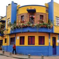 Colours of the historic district of La Candelaria, Bogota   Scott Pinnegar