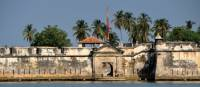 Old fortress on the coast of Cartagena, Colombia | Scott Pinnegar