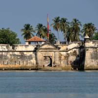 Old fortress on the coast of Cartagena, Colombia   Scott Pinnegar