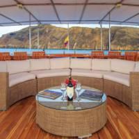 Views of the sun deck aboard Archipel I