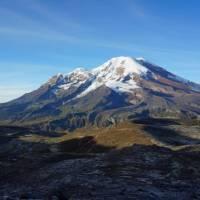 Mt Chimborazo, Ecuador's highest mountain at 6310m