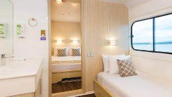 Single cabin 6 on the main deck of Solaris