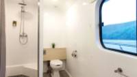 Bathroom facilities aboard Solaris