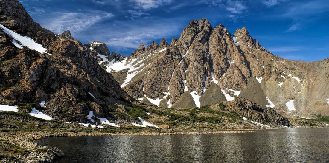 Beautiful lake views on the Dientes Circuit on Navarino Island |  <i>EcoCamp Patagonia</i>