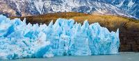 Beautiful blue hues in Patagonia