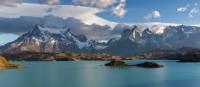 Views across Lake Pehoe   Richard I'Anson