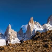 Trekking barren landscapes in Patagonia | Richard I'Anson