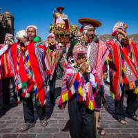 Celebrating in the streets of Peru | Richard I'Anson