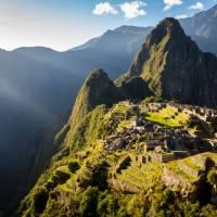 Breathtaking colours over the vibrant Machu Picchu   Richard I'Anson