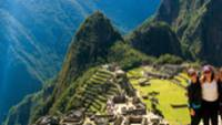 Looking down to Machu Picchu |  <i>Chris Gooley</i>