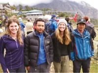 Yomads, Nepal, Everest Base Camp, Himalaya, Trek |  <i>Sally Imber</i>