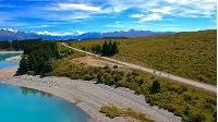 Experience a week of cycling on the Alps to Ocean Cycle Trail with Adventure South NZ.   You'll cycle from the foothills of the mighty Southern Alps, through a network of turquoise lakes, through rolling farmland, and finishing in Oamaru at the Pacific Ocean -  all on this fully supported 6 day cycle tour.   http://www.adventuresouth.co.nz/ATC  Music: Yard Sale - Silent Partner https://youtu.be/CqjAsQ35mLo  All permissions we gained from private land owners, district councils & DOC for the use of UAV.