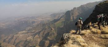 Edge of the world views in Ethiopia's Simien mountain range | Jon Millen