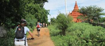 Cycling is a great way to explore Myanmar | Kate Harper