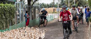 Cycling in the Mekong Delta will provide you with authentic experiences | Lachlan Gardiner