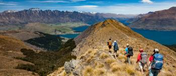 Hiking along the ridge line to the top of Ben Lomond | Colin Monteath