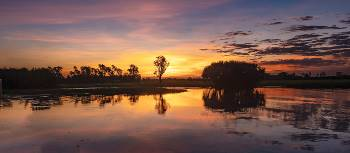A spectacular sunset experienced on the Yellow Waters cruise in Kakadu | Peter Walton