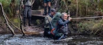 River crossings on Tasmania's South Coast Track | John Dalton