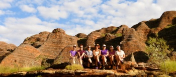 Walkers on the Bungle Bungles Trek | Holly Van De Beek