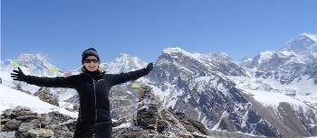 Standing at 5400 metres | Pamela Lynch