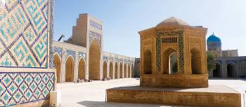 Breathtaking scenery at the Kalyan Complex in Bukhara | Natalie Tambolash