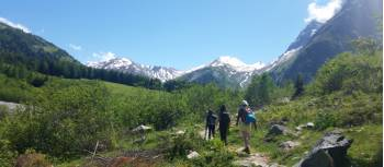 Hiking in the Mont Blanc region | Dana Garofani