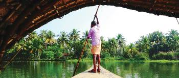 Cruising the stunning backwaters of Kerala | Sue Badyari